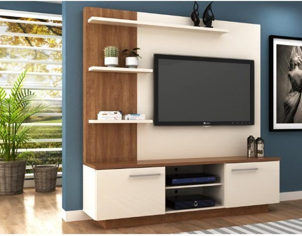Rack Para Tv Estantes Modular Led Lcd Mesa Living Mueble