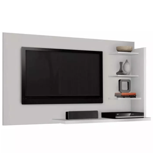 Panel Rack Soporte Tv + Televisor Smart 32 Microsonic