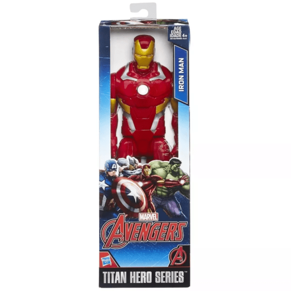 Figura De Accion Avenger 12» Iron Man Hasbro