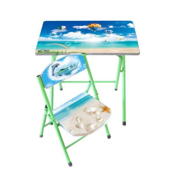 Mesa Y Silla Para Niños – Set Infantil Diseño Colores