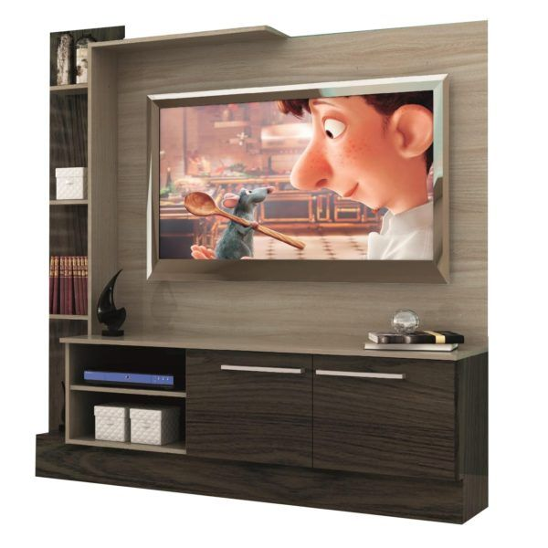 Rack Modular Para Tv Home Theater Con Estantes Moderno