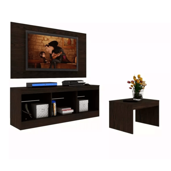 Panel De Tv+rack+mesa+televisor Smart Tv 32 Microsonic