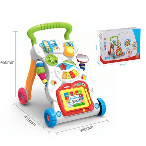 Andador Caminador Asistente Para Bebe Con Luz Y Sonido