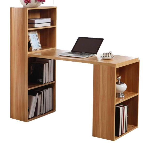 Escritorio Mesa De Pc De Oficina Dormitorio Con Estanteria