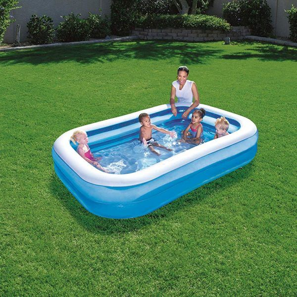 Piscina Inflable 2 Anillos 778 Lts Rectangular Bestway