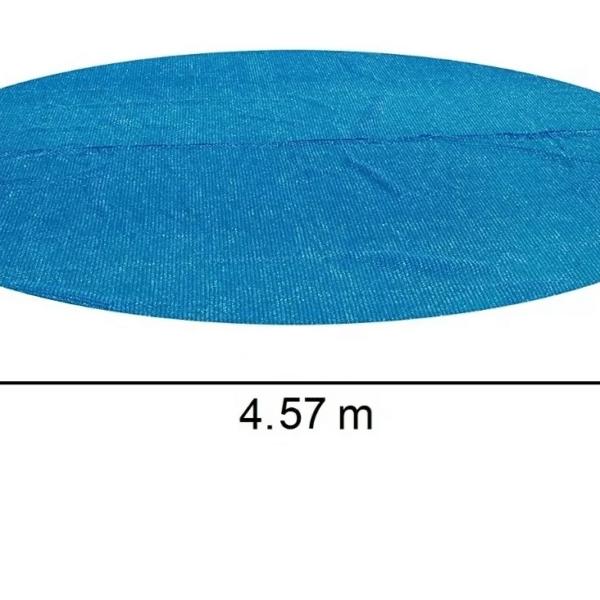Funda Cobertor Isotérmico Piscina Estructural 4.57m Bestway