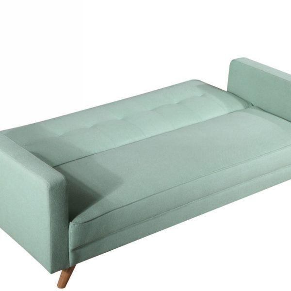 Sofa Cama Tapizado En Tela Sillón Living Moderno