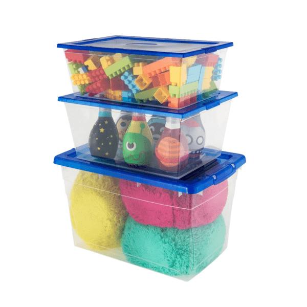 Set De 3 Cajas Caja Organizadora Organizador De 3 Medidas
