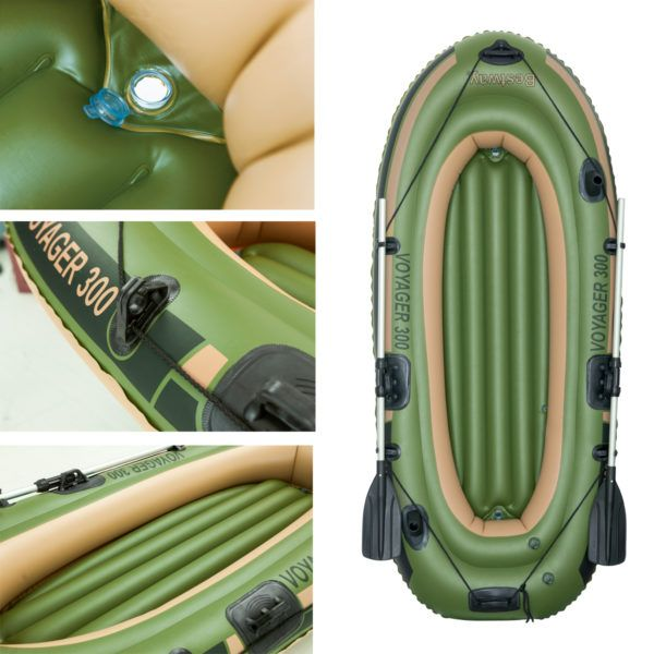 Bote inflable para 2 personas
