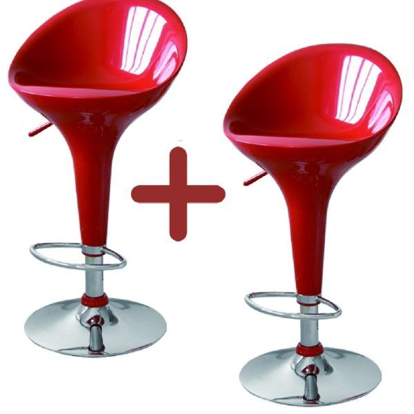 Promo 2 Butacas Acrílico Taburete Silla Para Bar