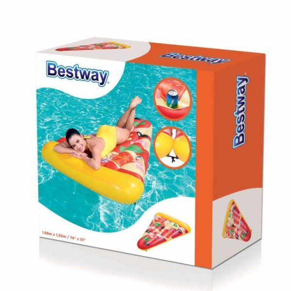 Gomon Pizza Inflable SalvaVidas Bestway