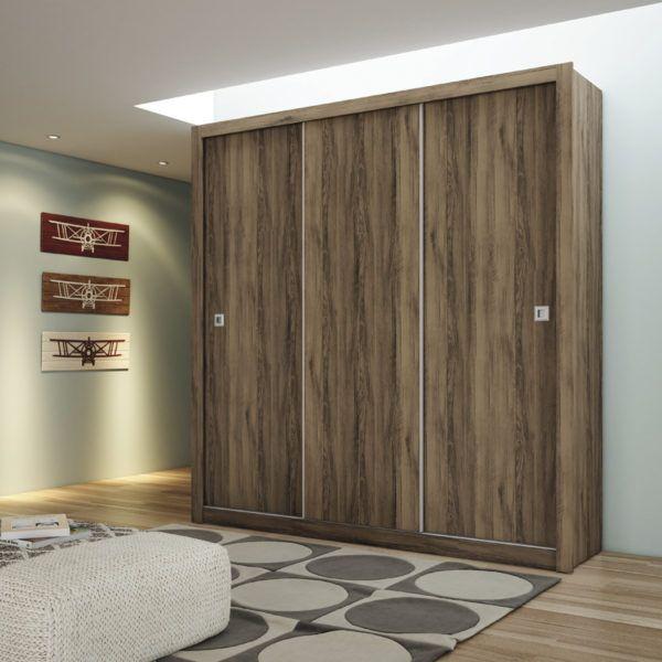 Roperos Ropero Placares Muebles 3 Puertas Corredizas – OUTLET