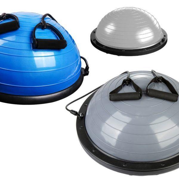 Pelota De Pilates 55 Cm+ Inflador +medio Balón Pelota
