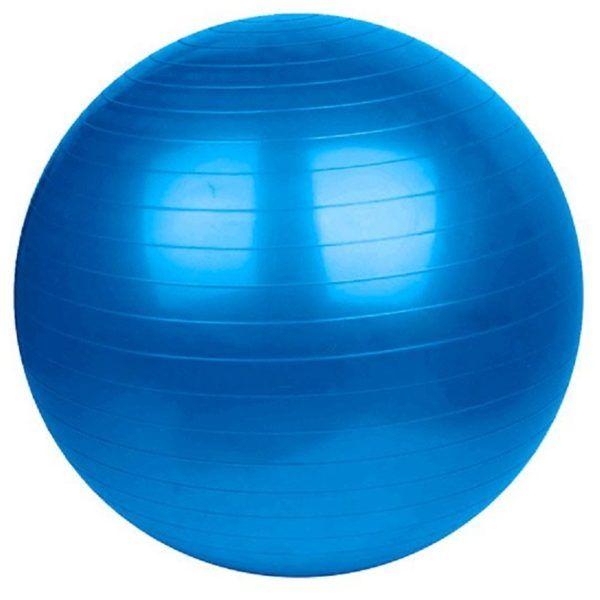 Pelota Pilates 55 Cm+ Banda + Inflador + Cuerda Fitness