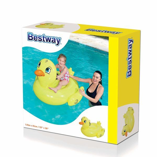 Flotador Salvavidas Inflable Pato Niños Infantil Bestway