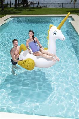 Flotador Salvavidas Inflable Unicornio Grande Adultos Bestway