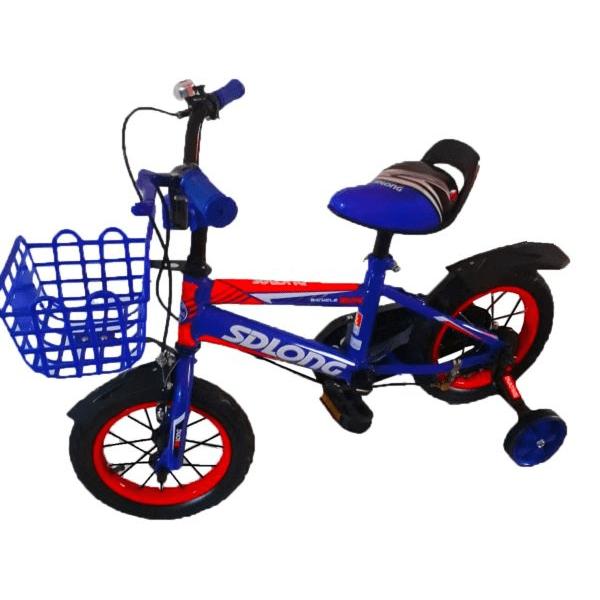 Bicicleta Infantil Rodado 12 Con Canasto Y Campana Niño