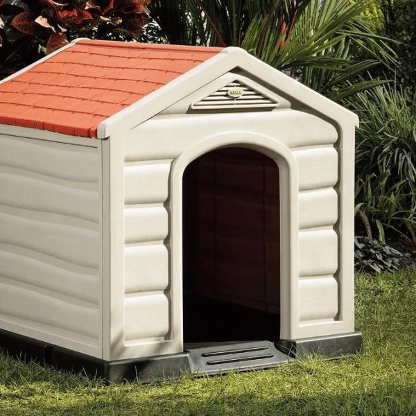 Casa De Perro Grande Para Raza Mediana Y Grande Rimax