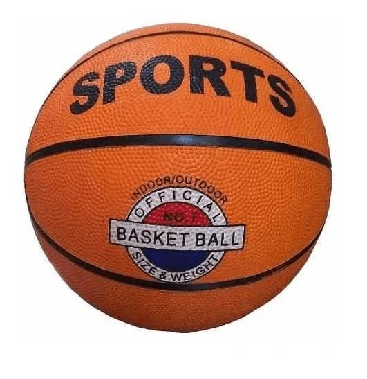 Pelota Basketball Basquet Sports Niños Adultos + Inflador