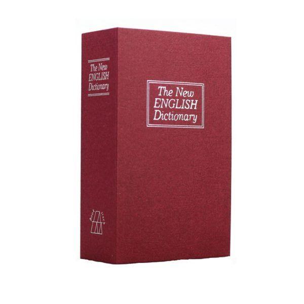Libro Cofre De Seguridad Original Caja Fuerte