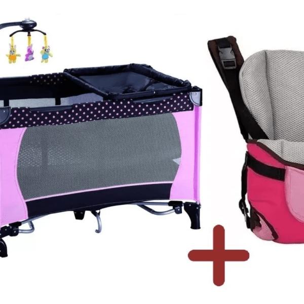 Practicuna Cuna Para Bebe + Marsupio Bebe