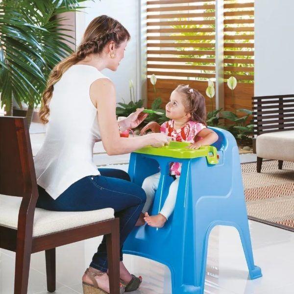Silla De Comer Para Bebé Portátil Lavable 3 Posiciones Rimax