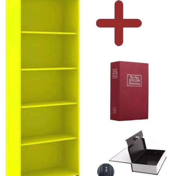 Estantería Biblioteca Armario Multiuso + Cofre Libro