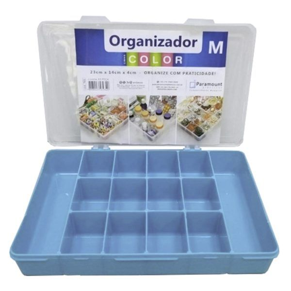 Caja Organizadora Organizador M 23 X 14 X 4 Cm