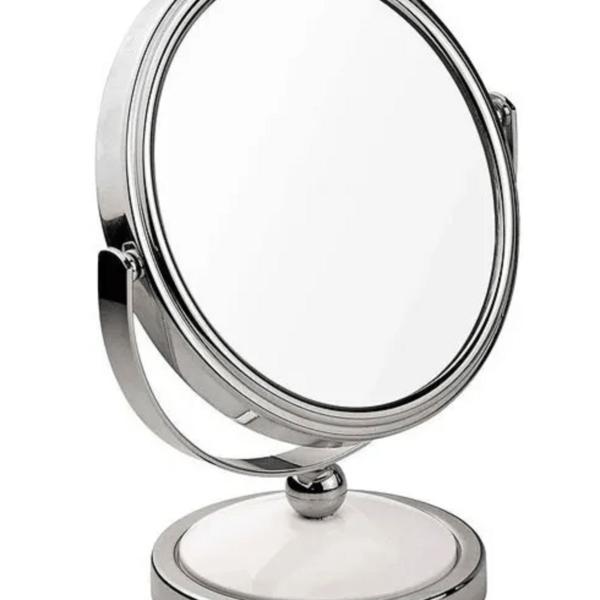 Espejo Maquillaje Mor + Kit Organizador De Cosméticos