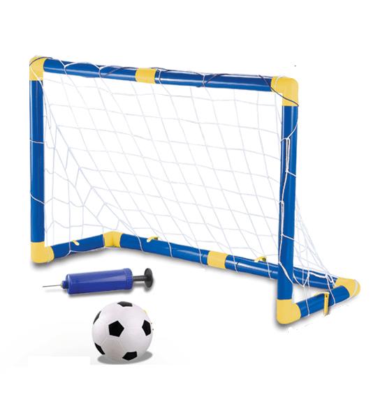 Arcos De Futbol+ Pelota + Inflador – Set De Futbol Sin Redes – OUTLET