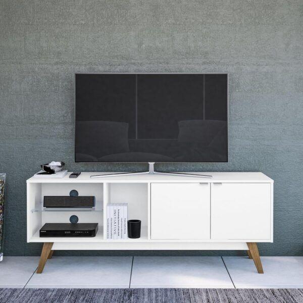 Rack Mesa De Tv Mueble Comedor Living C/puerta